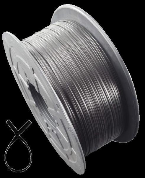 KAB Kabelbinder Twistband sw 1000Meter