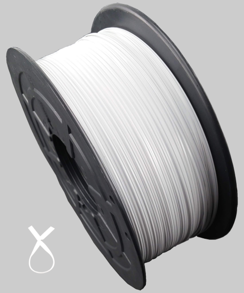 KAB Kabelbinder Twistband weiß 1000Meter