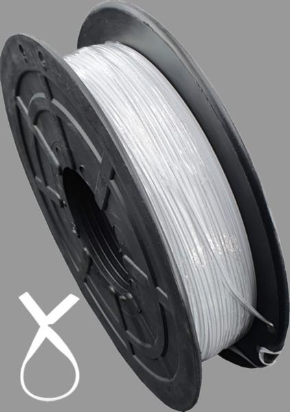 KAB Kabelbinder Twistband weiß 500Meter